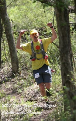 photo of Gary Henry at the Free State 100K Trail Run
