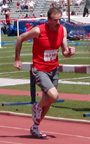 photo of Jay O'Neill at 2007 KU Relays Master 800