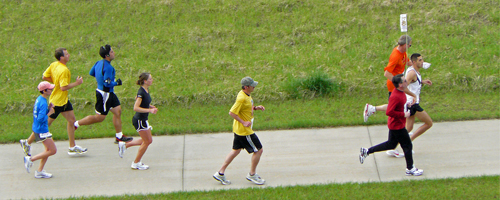 Photo from the Kansas Marathon and link to the Flickr slideshow.