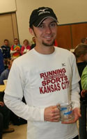 Brett Rinehart, top male winner.