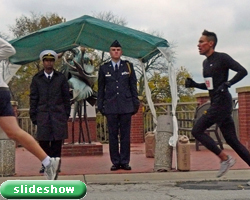 slideshow of the Nov 13th KU Veterans Day 5K.