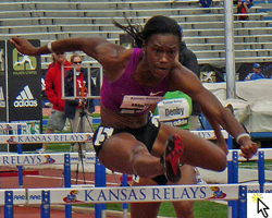Photo from the KU Relays and link to Flickr slideshow.