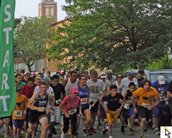 Photo slideshow from the May 19, 2012 St John Eagle 5K.