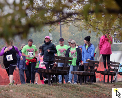 Photo slideshow from the October 13 Steps for the Chest 5K.