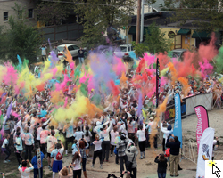Link to slideshow of the Color Run.