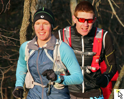Photo from the Free State Trail Run, April 20, 2013 at Clinton State Park.