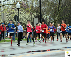 Link to Flickr slideshow from the April 27, 2013 St John Eagle 5K Run.