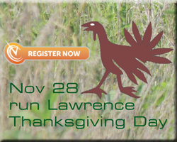 Click here to sign up for the runLawrence Thanksgiving Day Run.