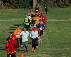 Photo from the 38th Annual Turkey Trot at Haskell on Nov 2nd.