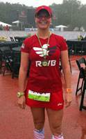 Photo of LaRisa Chambers-Lochner at the New Orleans RocknRoll Half.