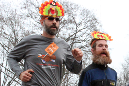 Photos from the runLawrence Thanksgiving Day 5K.