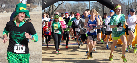Link to photos from the 2015 Shamrock Shuffle.