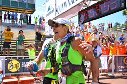 Photo of Gunhild Swanson, oldest finisher in the 2015 Western States 100.
