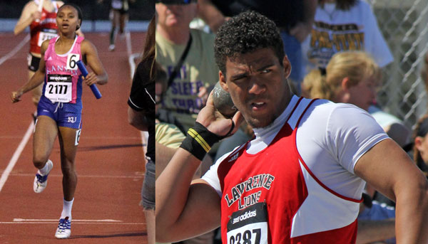 Link to photos from the Saturday events at the Kansas Relays.