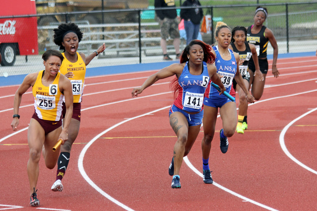 Link to Flickr album of photos from the Rock Chalk CLassic Track Meet.