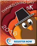 Link to register for Thanksgiving Day Run.