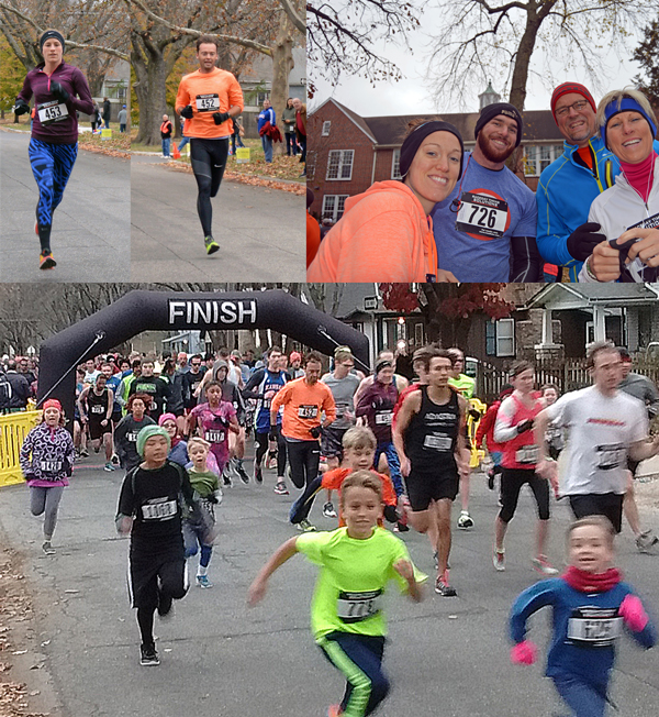 Photos from the 2016 RunLawrence Thanksgiving Day 5K and Fun run.