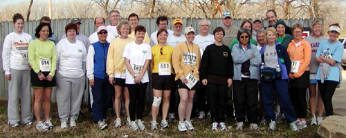 photo of Red Doggers at the 2006 Shamrock Shuffle